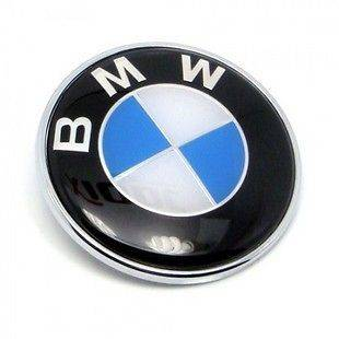 BMW 82mm Car Badge Decal Logo Emblem E30 E32 E34 E36 E38 E39 E46 E60
