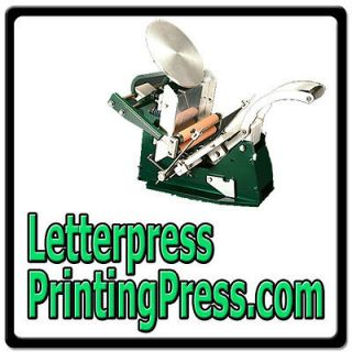 Letterpress Printing Press $$ VINTAGE/ANTIQUE/METAL/IRON/MACHINE