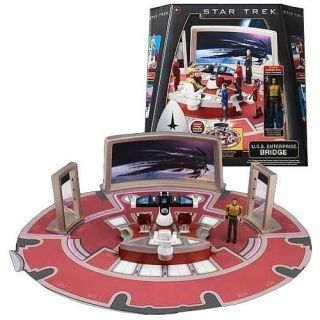 New  Star Trek USS Enterprise Bridge with Captain Kirk