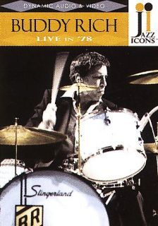 Jazz Icons   Buddy Rich Live in 78 DVD, 2006