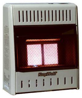 10,000 BTU LP Gas Infrared Vent Free Wall Heater