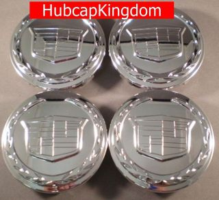 CADILLAC ESCALADE ESV EXT Chrome Center Cap SET NEW OEM (Fits 2007