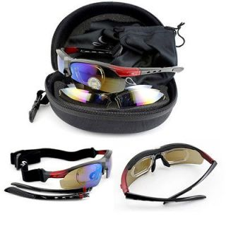 2012 New UV400 Black Cycling Bicycle Bike Sports Goggles Sun Glasses