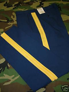 US ARMY DRESS BLUE UNIFORM PANTS TROUSERS 36 LONG