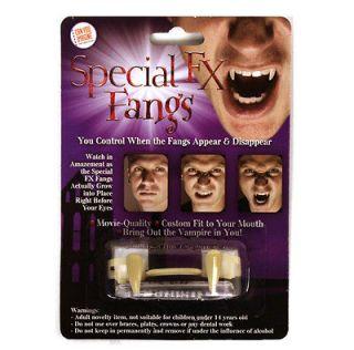 Can You Imagine Special FX Fangs Retractable Vampire Teeth