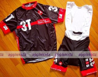 2011 CERVELO 3T TEAM BIKE CYCLING JERSEY + BIB SHORTS