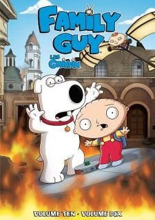 Family Guy, Vol. 10 DVD, 2012, Canadian