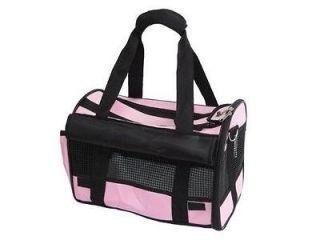 Pink Medium Pet Carrier Dog Cat Bag Tote Purse Handbag 1P