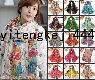 Fashion 15 color Women cotton Scarf Wraps Shawl Stole Soft Scarve