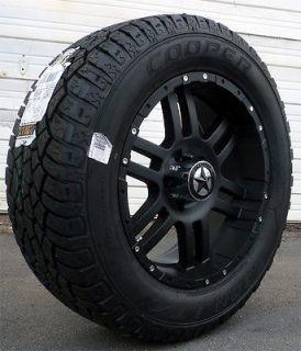 Black Wheels & Tires Dodge Truck, Ram 1500, 20x9 Matte Black 20 inch