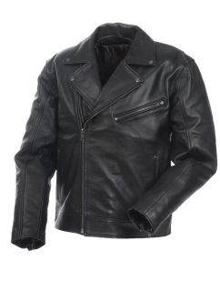 MENS PREMIUM LEATHER JACKET, FROM THE HOUSE MILWAUKEE MOSSI POLICE 20