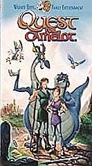 Quest For Camelot VHS, 1998, Spanish Dubbed