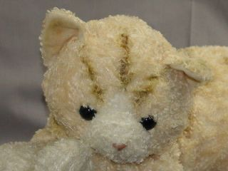 BIG PLUSH GUND TABBY THE CAT LE CHAT PLUSH LOVEY STUFFED ANIMAL TIGER