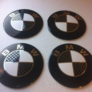 BMW Wheel Center Cap Emblem Decal Badge Hub Rim Sticker M 3Series
