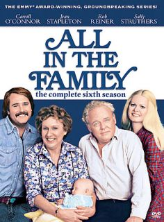 All in the Family   The Complete Sixth Season DVD, 2007, 3 Disc Set