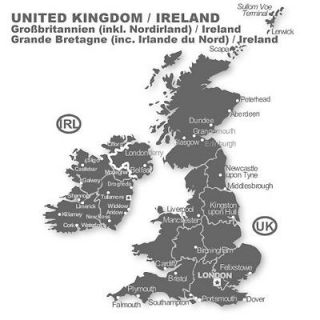 VDO Dayton SAT NAV CD BMW United Kingdom Ireland 2012