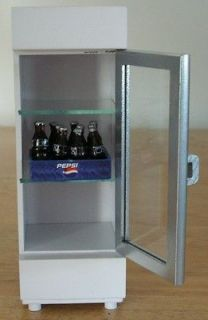 Dollhouse Mini Cooler w/ 1 Case of Pepsi