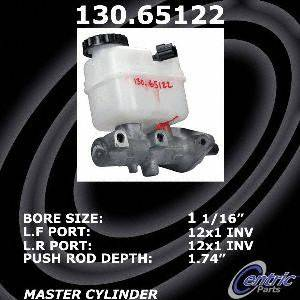 Centric Parts 130.65122 Brake Master Cylinder