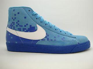 316664 413] Mens Nike Blazer High Scuba Blue White Varsity Royal