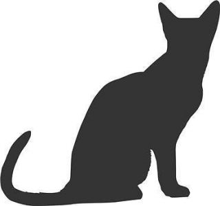 Cat Silhouette 1 Vinyl Decal Sticker Home Decor