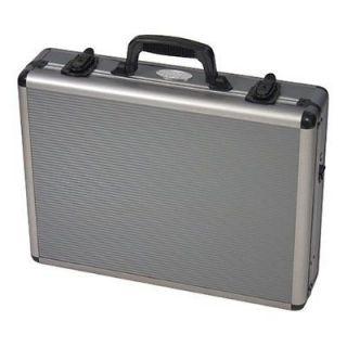 Gun Pistol Aluminum Carrying Case 4 Guns Foam Padding Airline Approved