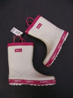 BNWT Little Girls Sz 8 Rivers Doghouse Brand Cute Pink/White Long
