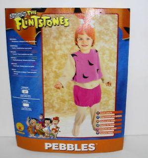 Pebbles The Flintstones Costume Small 4 6 #11606