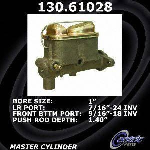 Centric Parts 130.61028 Brake Master Cylinder