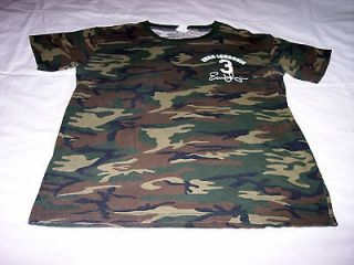 Tampa Rays Evan Longoria Camouflage Shirt Adult Medium Wounded Warrior