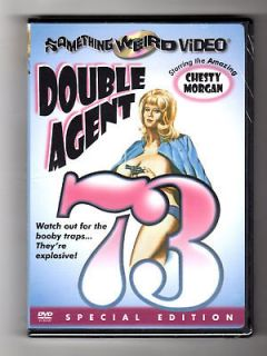 Double Agent 73 (DVD) Chesty Morgan, Doris Wishman, BRAND NEW!
