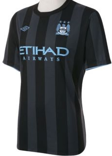 MANCHESTER CITY EUROPEAN JERSEY 2012/13 UEFA CHAMPIONS LEAGUE JERSEY
