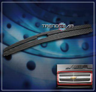 07 11 CHEVY SILVERADO 1500 FRONT UPPER BILLET GRILLE INSERT 08 09 10