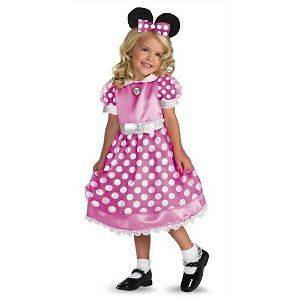Minnie Mouse Toddler Halloween Costume Small 2T. Fast,
