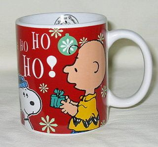 Peanuts 60th Anniversary Snoopy & Charlie Brown Christmas Mug