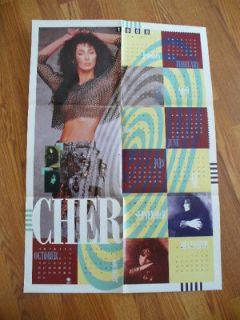 Music Memorabilia  Rock & Pop  Artists C  Cher  Posters