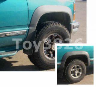 FACTORY STYLE FENDER FLARES CHEVY SILVERADO GMC C/K 1500 / 2500 / 3500