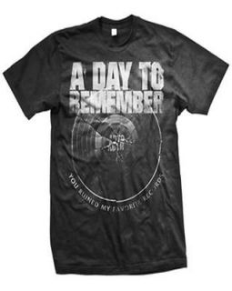 DAY TO REMEMBER broken record T SHIRT NEW S M L XL authentic