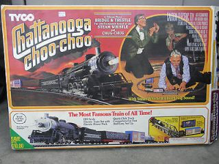 Chattanooga CHOO CHOO complete HO train set by TYCO original box 1991