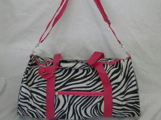zebra cheer bag in Clothing,
