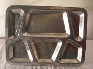 WWII US Military Army USMC SS FPT Lunch Tray Mess Chow Quartermaster