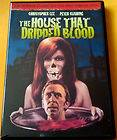That Dripped Blood, DVD, Christopher Lee, Peter Cushing, Nyree Dawn Po