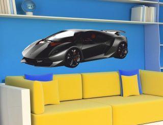 CARS Sport Racing Car LAMBORGHINI Sticker Children Nursey Decal