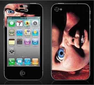 Iphone 4 CHUCKY CHILDS PLAY DECAL 1 Sticker Skins