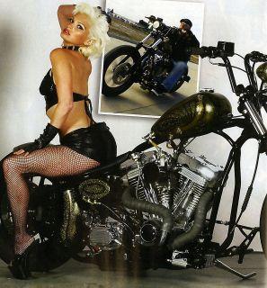 118 MOTORCYCLE MAGAZINE BOBBER CHOPPER PIN UP BIKE TRIUMPH OLD SCHOOL