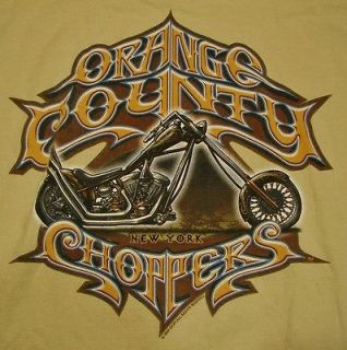 Orange County Choppers New York Adult Large T Shirt