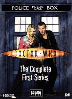 Doctor Who   The Complete First Series DVD, 2006, 5 Disc Set