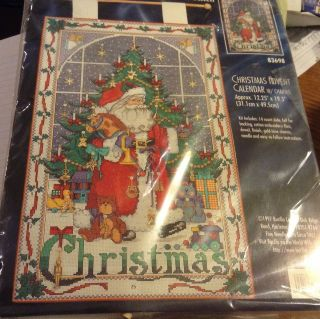 BLESSED NATIVITY ADVENT CALENDAR Counted Cross Stitch Christmas Kit