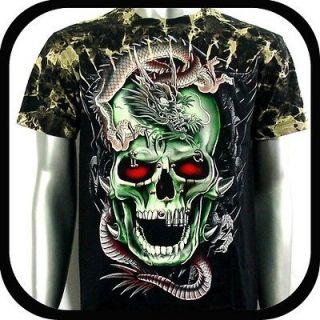 Survivor T Shirt Biker Metal Rock Vtg Tattoo S40 Sz XXL 2XL Street