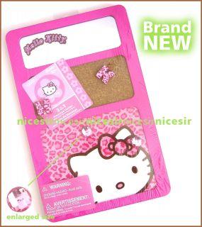 Hello Kitty Back to School Home Locker 3 in 1 Mirror Cork Magnet Board