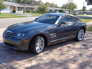 Chrysler  Crossfire Limited 2004 CHRYSLER CROSSFIRE COUPE, 7300 MILES